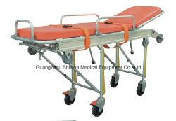 Ambulancia camilla de emergencia médica de emergencia de rescate de la cama