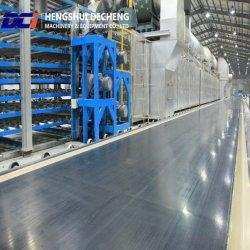 Producción de placas de pared de yeso decorativa que hace la máquina