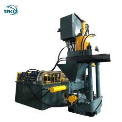 TF 630 Tonnen hydraulische Altmetall-bricht Brikettieren-Presse für Verkauf ab