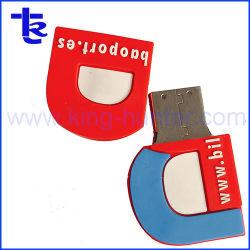 هدية من شركة PVC USB Flash PendDrive