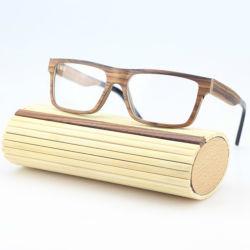 Venda superior personalizado óculos de madeira isopropanol óptica molduras para homens Optical