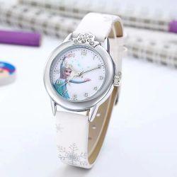 Des Uhr-Wholesale Uhren koreanischer Form-Kursteilnehmer-Uhr-Silikon-Quarz-leuchtenden Mädchens der neuen Kinder
