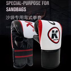 Высокое качество по профессиональному боксу перчатки обучения индивидуальный Логотип Real кожаный дизайн Вашего бокса перчатки