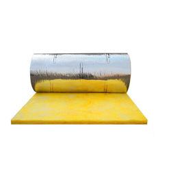 방음 알루미늄 필름은 벽을%s 유리솜 담요를 직면했다