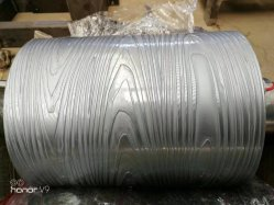 Kundenspezifischer Prägewalze-Rad-Zylinder für Prägung-Oberflächenbehandlung