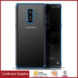 Dünner weicher galvanisierter Shockproof Kristall - freier Fall für Samsung S9