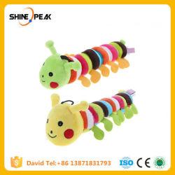 Cão de estimação recheadas de pelúcia Som Brinquedos Bonitinha Longworm Chew Squeak brinquedos para cães Cães Gatos produtos de limpeza dos dentes Gomas de brinquedo