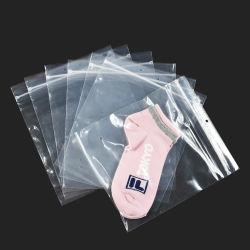 귀여운 수직 슈퍼마켓 프로모션 Zip 잠금 PE/OPP Toys R Us 플라스틱 귀금속 토트 식품 배달 스탠드 업 파우치 핑크 가방