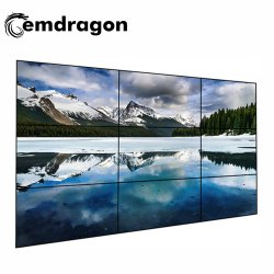 3X3 Video Wall 49 Zoll Android Full HD Media Player LED Digital Signage Standing Bus LCD Media Advertising Player