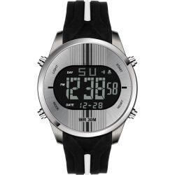 ギフト(JY-SQ072)のためのファッション・ウォッチのシリコーンバンドLEDスポーツのデジタルメンズ腕時計