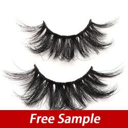 Extensión de pestañas Minkie larga 100% de los visones en 3D pelo pestañas