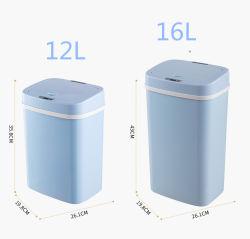 12L/16L en plastique Seau à couches pour bébés Bébé Diaper Bin automatique de Capteur Touchless Corbeille de couches pour bébé