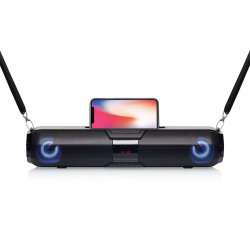 X22s 공장 가격 시각 디지털 표시 장치 무선 Bluetooth 스피커