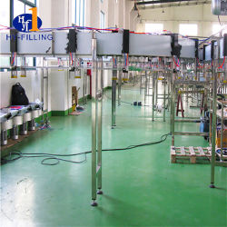 Getränkeproduktionszweig Haustier-Flaschen-Luft-Förderanlage