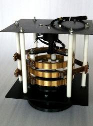 Les bagues collectrices électrique rotatif avec des balais en carbone