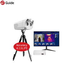 비용 효과적인 가이드 Qt400 얼굴 인식 자동적인 적외선 시스템 발열 검열을%s 적외선 열 화상 진찰 스캐너 사진기