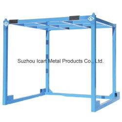 Het Materiaal van het staal en Aangepast Stapelend de Pallet van het Rek