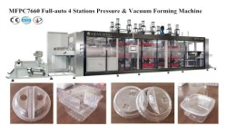 Автоматическая пластиковый вакуума в механизм с укладчиком MFPC робота (7660)
