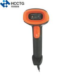 휴대용 RS232 USB 1d 2D 바코드 스캐너(HS-6602)