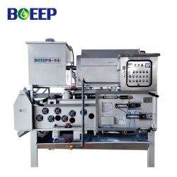 O processo de tratamento de efluentes efluente hospitalar tambor rotativo espessante e fabricantes de máquinas de desidratação