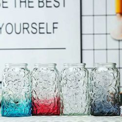 雨花の石シリーズガラスのつぼ