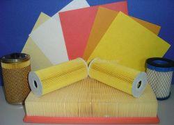 Air auto/oil/filtre à carburant avec du papier caractéristique Fire-Resistance