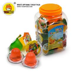 13 gramme Mini Mix saveur des fruits de la gelée dans le bocal de la Coupe du