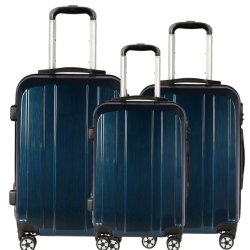 ベストセラーの方法無声紡績工の車輪が付いている光沢のあるパソコンのトロリー旅行荷物袋