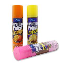 Isentos de silicone aroma de limão limpar e polir para madeira mobiliário/Spray Polaco