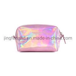 Sacchetto olografico durevole impermeabile dell'estetica di colore rosa dell'argento dell'oro del laser di nuovo stile
