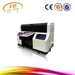 Nuevo A3 automático de la impresora de inyección de tinta UV Cilindro de color blanco con barniz al mismo tiempo la impresión de Golf, la pluma, de madera, metal, acrílicos, PVC, PU