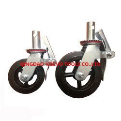 Китай - 8 дюйма из твердого каучука колесо со стальной обод