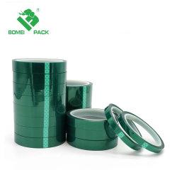 Силиконовый Bomei ленту к высокой температуре зеленой лентой из полиэфирной пленки