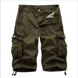 Der Großhandelsform-Männer schließen Jeans-beiläufige Denim-Kurzschluss-Ladung-kurze Hosen kurz