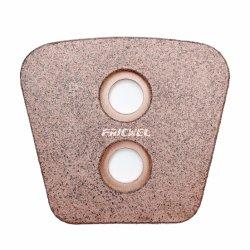프리셀 자동 부품 구리 브론즈 소결 클러치 버튼 패드 for 트럭 VTL Ts16949 ISO9001 OE 품질