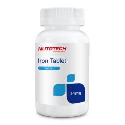 Etichette private Biotin supplementi dietetici 65 mg USP ossido di ferro Per compresse in ossido di ferro compresse in ferro compresse in ferro