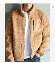 Personalizza giacca da uomo in pile Sherpa con logo spesso e zip Maglia da uomo Top uomo Winter Casual uomo Abbigliamento Abbigliamento Abbigliamento Abbigliamento T-Shirt Polo Sportswear