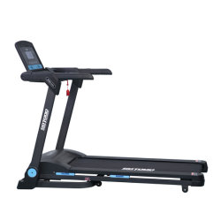 La pedana mobile motorizzata uso domestico piegata di ginnastica mette in mostra la macchina corrente della strumentazione di esercitazione