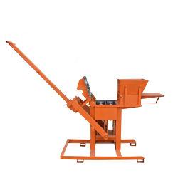 Ladrillo rojo pequeño máquina de formación cemento arcilla máquina de ladrillos Sin alimentación