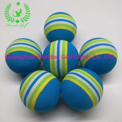 Blauer Farben-Regenbogen-niedriger Schlag scherzt sicheren Praxis-Golfball