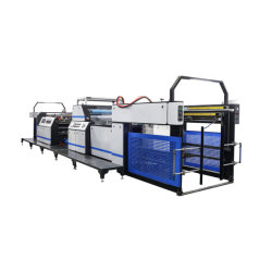 Automatische heiße thermisches Papier-lamellierende Hochgeschwindigkeitsmaschine Hyfm-1080b