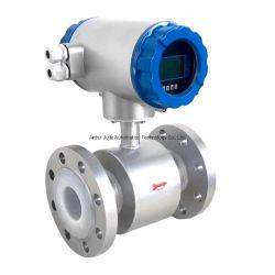 Надежное измерение, высокая скорость ЦП, IP65/IP68, жидкий электромагнитные расходомер