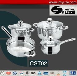 7pcs utensilios de cocina con tapa de cristal, ollas y sartenes, sartén, utensilios de cocina