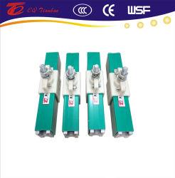 Alojamento de PVC Condutores isolados Powerail grua na rampa