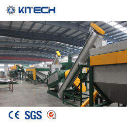Preço competitivo PE LDPE película de plástico PP HDPE Jumbo saco tecido Linha de Lavagem de fragmentação de reciclagem