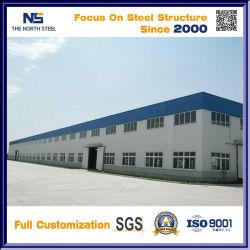 Costruzione d'acciaio edificio d'acciaio prefabbricato di Sturcture del pavimento per il workshop