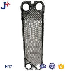 SS304/ SS316L/ Titanium Apv H17 de la junta de la placa de la placa del intercambiador de calor precio fabricante de cerveza/leche