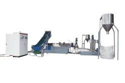 Einstufige Kunststoff-Film-Recycling-Pelletiermaschine