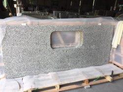 Topos de banho de granito cinza para cozinha ou Bar/ horas/ Banho tops