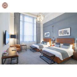 أثاث غرفة نوم صلبة مصمتة قابلة للتخصيص لفندق 5 نجوم